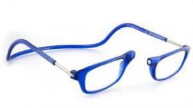Foto 2 Lesebrille mit Magnetverschluss, Blau +2.00, Fabrikneu