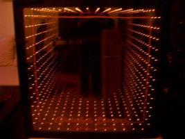 Foto 3 Leucht-Reklame ''Galois Blondes'' mit Tunnel-Effekt