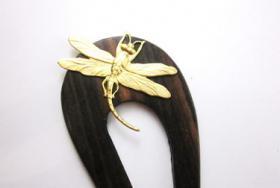 Libellen Haarforke / Haarstab
