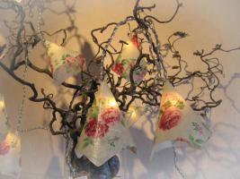 Foto 2 Lichterkette mit Rosen Geschenkidee