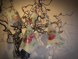 Foto 3 Lichterkette mit Rosen Geschenkidee