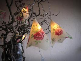 Foto 4 Lichterkette mit Rosen Geschenkidee