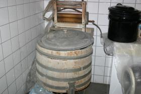 Liebhaber alter Geräte Miele Waschmaschine