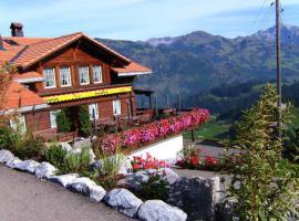 Foto 2 Liegenschaft an excellenter Panorama Lage im Berner Oberland