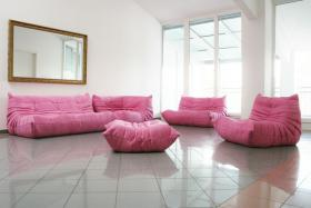ligne roset togo rosa in m nchen von privat wohnen. Black Bedroom Furniture Sets. Home Design Ideas