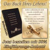 Limitierte Auflage - Nur 100 Stück - Das golden Buch Ihres Lebens  - Ihr Leben, Ihre Stärken, Ihre Begabung, Ihre Berufung