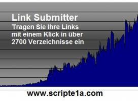 Link Submitter. Ihre Webseite in 2700 Verzeichnisse