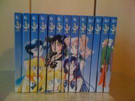 Löse meine Sailor Moon Sammlung auf!!!!!