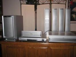 Loewe XELOS SL 32 HD TV Fernseher Heimkino LCD + Home Theater Sound System Panasonic SA-HT 870