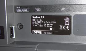 Foto 2 Loewe Xelos 32 LED BLACK  100 HZ