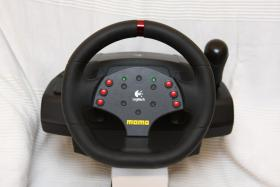 Logitech MOMO Racing Force Feedback Wheel -SUPER ZUSTAND!