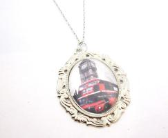 ' London-Reise ' Cameo Kette