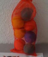 Foto 2 Luftgefüllte Gummibälle für Hunde