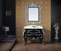 luxus badm bel in barock design in neuwied waschbeckenschrank. Black Bedroom Furniture Sets. Home Design Ideas