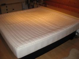 Luxus Doppel Wasserbett Softside Hohlkehl Rahmen HK 200/200