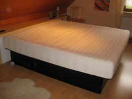 Foto 2 Luxus Doppel Wasserbett Softside Hohlkehl Rahmen HK 200/200