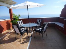 Luxus Ferien PENTHOUSE(100qm)direkt am MEER / Estepona / Costa del Sol / ab 405;€p.WOCHE