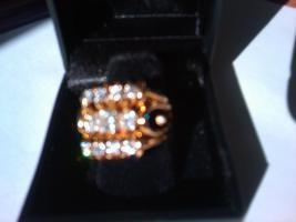 Luxus Gold Diamantring - Das  traumhafte Geschenk