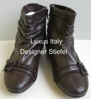 Luxus Italy Designer Stiefeletten, Gr. 36