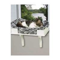 Luxus-Katzen-Fenster-Bett