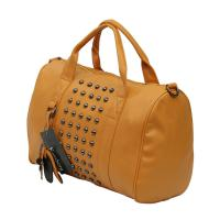 Luxus Shopper Handtasche Senf/Curry