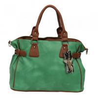 Luxus   Padlocktasche Handtasche Grün