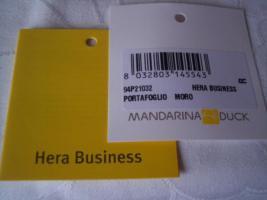 Foto 7 MANDARINA DUCK Geldbörse HERA moro *Neu mit Etikett*