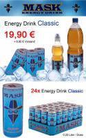 Foto 3 MASK Energy Drink - 6 Varianten - 24 Dosen / 0,25 Liter - MDH 2013 - PFANDFREI