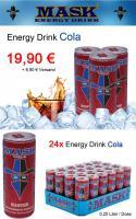 Foto 4 MASK Energy Drink - 6 Varianten - 24 Dosen / 0,25 Liter - MDH 2013 - PFANDFREI