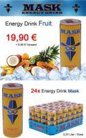 Foto 5 MASK Energy Drink - 6 Varianten - 24 Dosen / 0,25 Liter - MDH 2013 - PFANDFREI