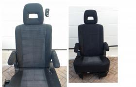 Foto 6 MAZDA II BJ MPV Verlour-Sitz grau neuw m. Kopfstütze Sitz rechts