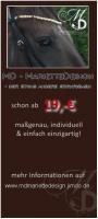 MD-MarietteDesign - der etwas andere Stirnriemen