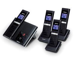 MEDION� DECT-Telefon mit 4 Mobilteilen MEDION� LIFE� S63008 (MD 83877)