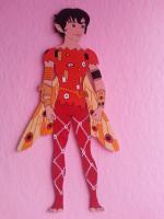 Foto 4 MIA and ME  Figuren aus Holz  als Wand-oder Schrank Deko