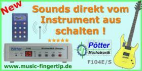 Foto 3 MIDI Fu�controller, Midi Flu�leiste, Midi Fu�pedal, Fu�schalter, Effektger�te