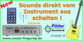 Foto 4 MIDI Fu�controller, Midi Flu�leiste, Midi Fu�pedal, Fu�schalter, Effektger�te