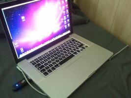 MacBook Pro 15' i7 2,66 GHz 500GB , 4GB RAM, HiRes + OVP!