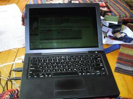 Macbook 2.1, schwarz