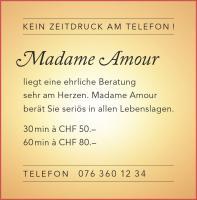 Madame Amour hilft Ihnen in allen Lebenslagen