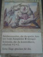 Foto 4 Magic Karten: Soldaten-Deck