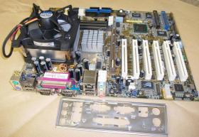 Mainboard ASUS P4B533-E + Intel Celeron 1,7 Ghz
