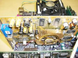 Foto 2 Mainboard EliteGroup P4S5A + Intel Pentium 4 1,60 Ghz