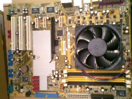 Mainboard + CPU + K�hler