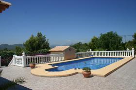 Foto 3 Makellose Villa mit Aussicht auf den Montgo in Javea an der Costa Blanca