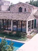 Foto 2 Mallorca Gewerbe Immobilien: 650 qm Dorfhaus / Anwesen mit 3 Häusern und Pool in Petra