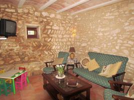 Foto 8 Mallorca Immobilien Langzeitmiete: Antike renovierte Naturstein Pool Finca mit 5 Schlafzimmern in Santanyi