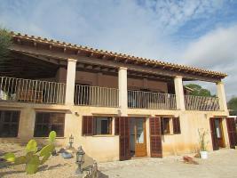 Foto 3 Mallorca Immobilien Langzeitmiete: Meerblick Pool Finca mit 2 Gästeapartments bei Porto Colom
