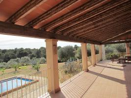 Foto 4 Mallorca Immobilien Langzeitmiete: Meerblick Pool Finca mit 2 Gästeapartments bei Porto Colom