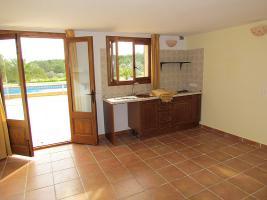 Foto 8 Mallorca Immobilien Langzeitmiete: Meerblick Pool Finca mit 2 Gästeapartments bei Porto Colom