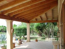 Foto 2 Mallorca Immobilien Verkauf: Kleine charmante Natursteinfinca mit Nebengebäude und Gästeapartment zwischen Campos und Colonia Sant Jordi